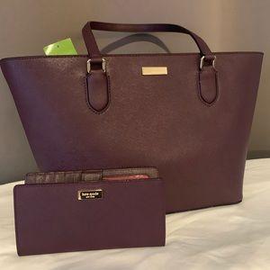 Kate Spade shoulder bag with wallet
